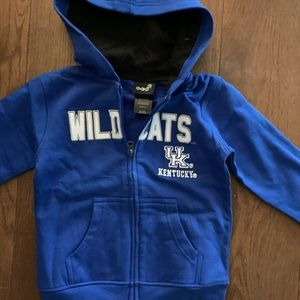 NWT Kentucky ZIP up Jacket